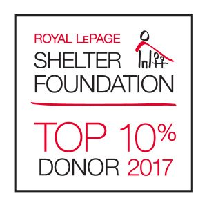 Royal LePage Shelter Foundation Donor